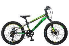 BICIKL POLAR ALASKA 20 black-green-yellow
