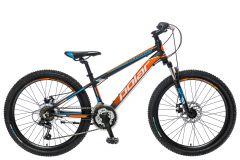BICIKL POLAR ALASKA 24 black-orange-blue