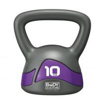 KETTLEBELL BW-117 10kg grey-purple