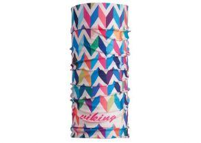 BANDANA VIKING ARROWS white-blue-pink