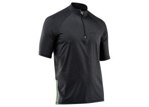 DRES NORTHWAVE TRAIL 2 s/s dark grey melange-green