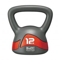 KETTLEBELL BW-117 12kg grey-red