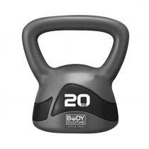 KETTLEBELL BW-117 20kg grey-black