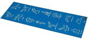 PODLOGA ZA VEŽBANJE SKLOPIVA BB-8301 4mm blue