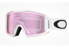 NAOČARE SKI OAKLEY LINE MINER XM matte white-prizm hi pink iridium