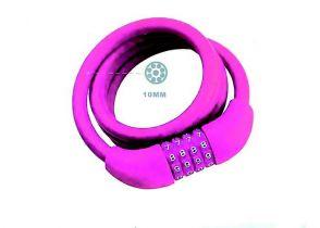 BRAVA ZA ZAKLJUČAVANJE NA BROJ TY573 10x1000mm SPIRALNA pink