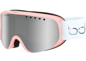 NAOČARE BOLLE SCARLETT matte white & pink - black chrome