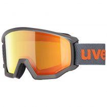 NAOČARE UVEX ATHLETIC FM anthracite mat-mirror orange