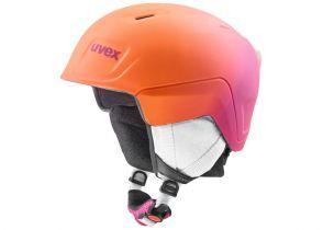 KACIGA UVEX MANIC PRO pink-orange met mat