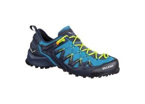 PATIKE SALEWA WILDFIRE EDGE premium navy-fluo yellow
