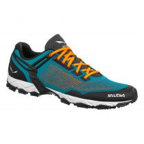 PATIKE SALEWA LITE TRAIN blue malta-fluo orange