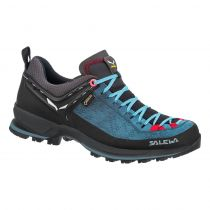 CIPELE SALEWA ŽENSKE MTN TRAINER 2 GTX blue dark denim-fluo coral