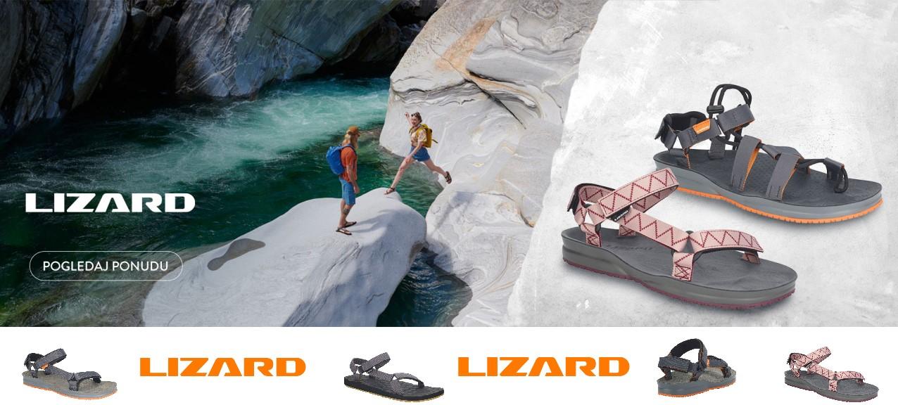 Lizard outdoor sandale
