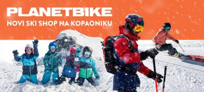 NOVI PLANET BIKE SKI SHOP NA KOPAONIKU
