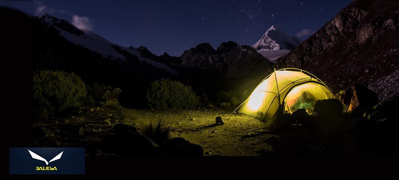 Salewa – šatori i vreće za spavanje